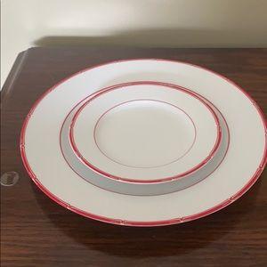 Lauren Ralph Lauren set of 2 plates.